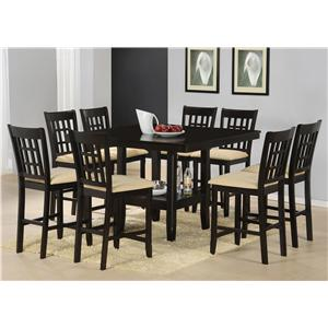Morris Home Furnishings Tabacon 9-Piece Dining Set