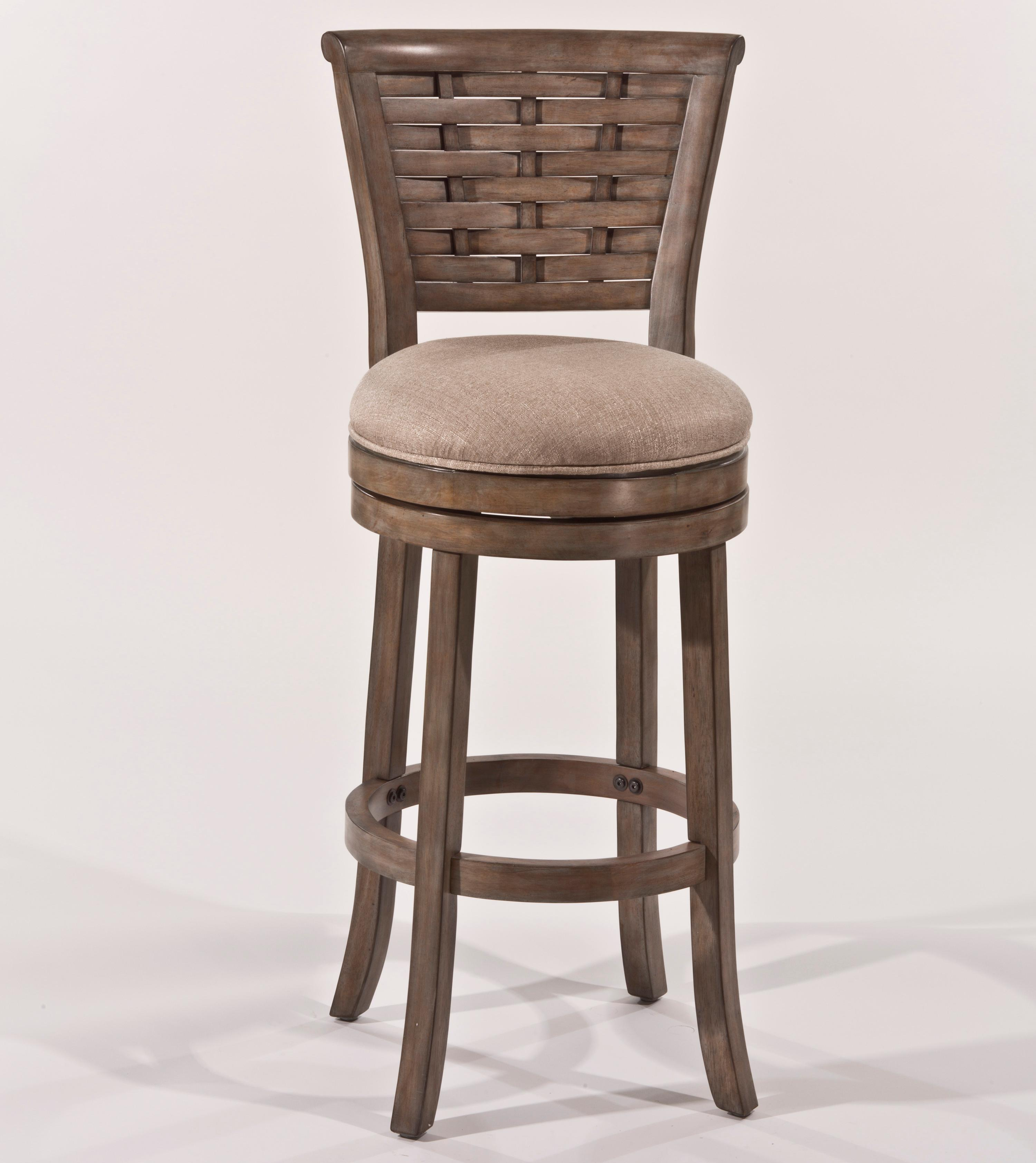 """Morris Home Furnishings Thedford Thedford 30"""" Swivel Barstool - Item Number: 903058354"""