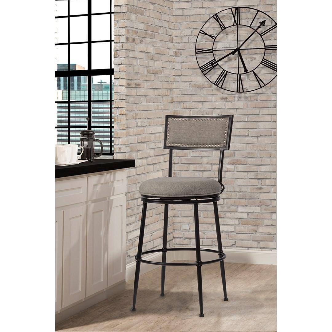 Hillsdale thielmann transitional commercial grade swivel - Commercial grade living room furniture ...
