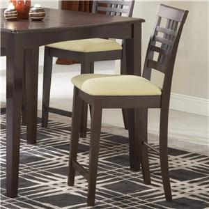 Hillsdale Tiburon Non-Swivel Counter Stool