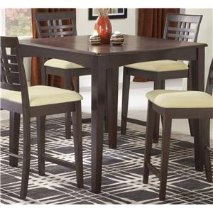 Hillsdale Tiburon 40 x 40 Counter Fix Top Dining Table