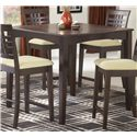 Morris Home Tiburon 40 x 40 Counter Fix Top Dining Table - Item Number: 4917-818