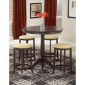 Hillsdale Tiburon Tiburon Pub Table with Backless Stools - Item Number: 4917-845