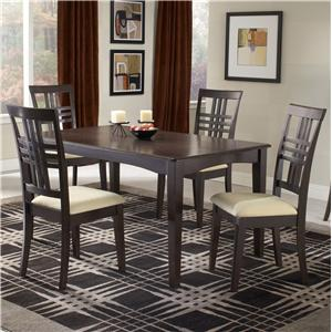 Hillsdale Tiburon Five Piece Dining Set