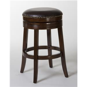 """Morris Home Furnishings Tilden Tilden 26"""" Backless Barstool"""