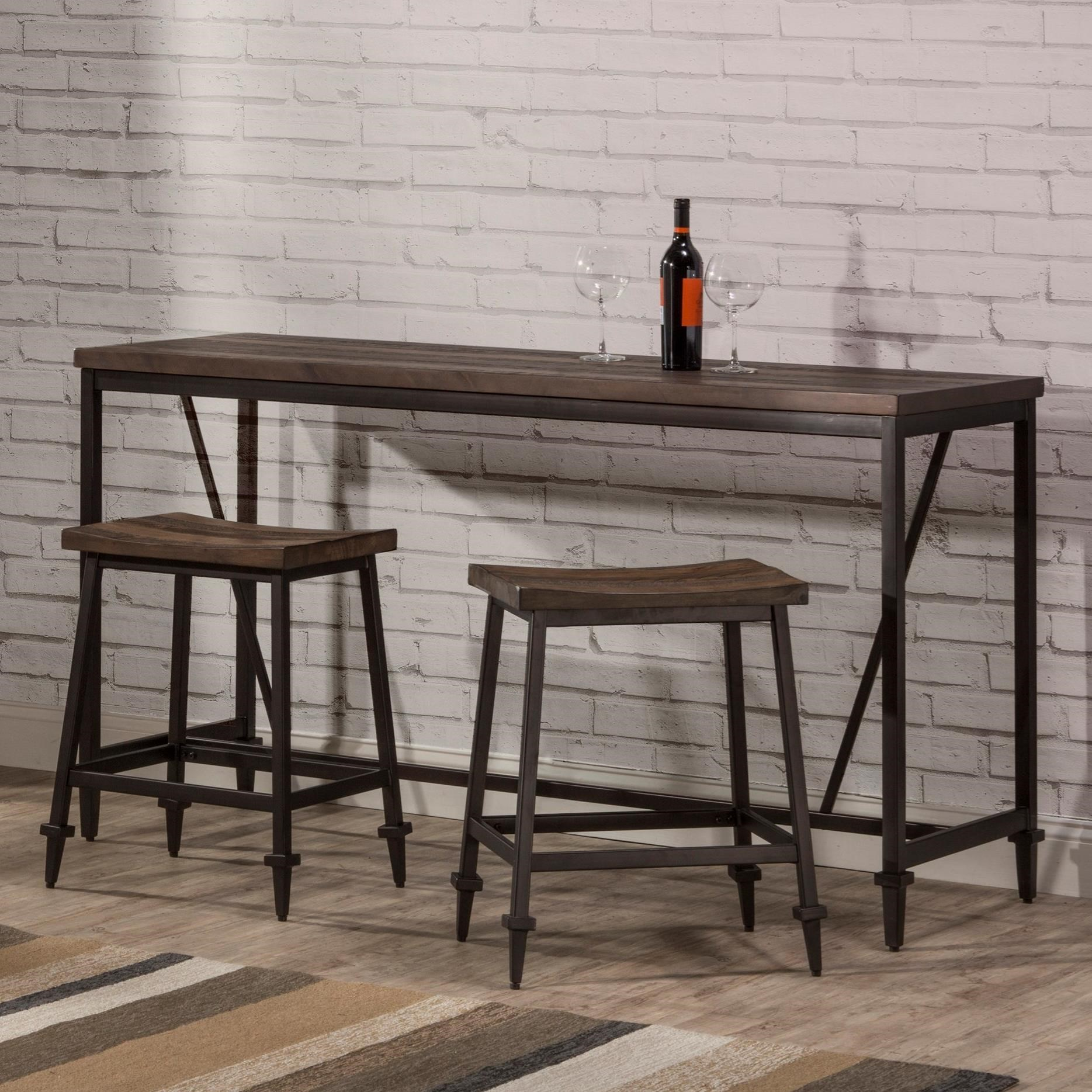 Miraculous Hillsdale Trevino 4236Cb 3 Piece Industrial Style Counter Pdpeps Interior Chair Design Pdpepsorg