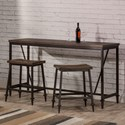 Hillsdale Trevino Counter Height Bar Set - Item Number: 4236CB