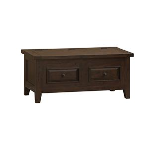 Morris Home Furnishings Tuscan Retreat5 Blanket Box with Lift Top