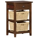 Hillsdale Tuscan Retreat Basket Stand - Item Number: 4793-940W