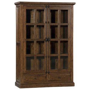 Morris Home Tuscan Retreat Double Door Cabinet