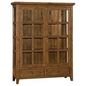 Morris Home Tuscan Retreat Display Cabinet