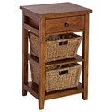 Hillsdale Tuscan Retreat Basket Stand - Item Number: 5225-940W