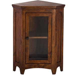 Morris Home Furnishings Tuscan Retreat Corner Cabinet