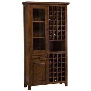 Morris Home Furnishings Tuscan Retreat Tall Wine Storage