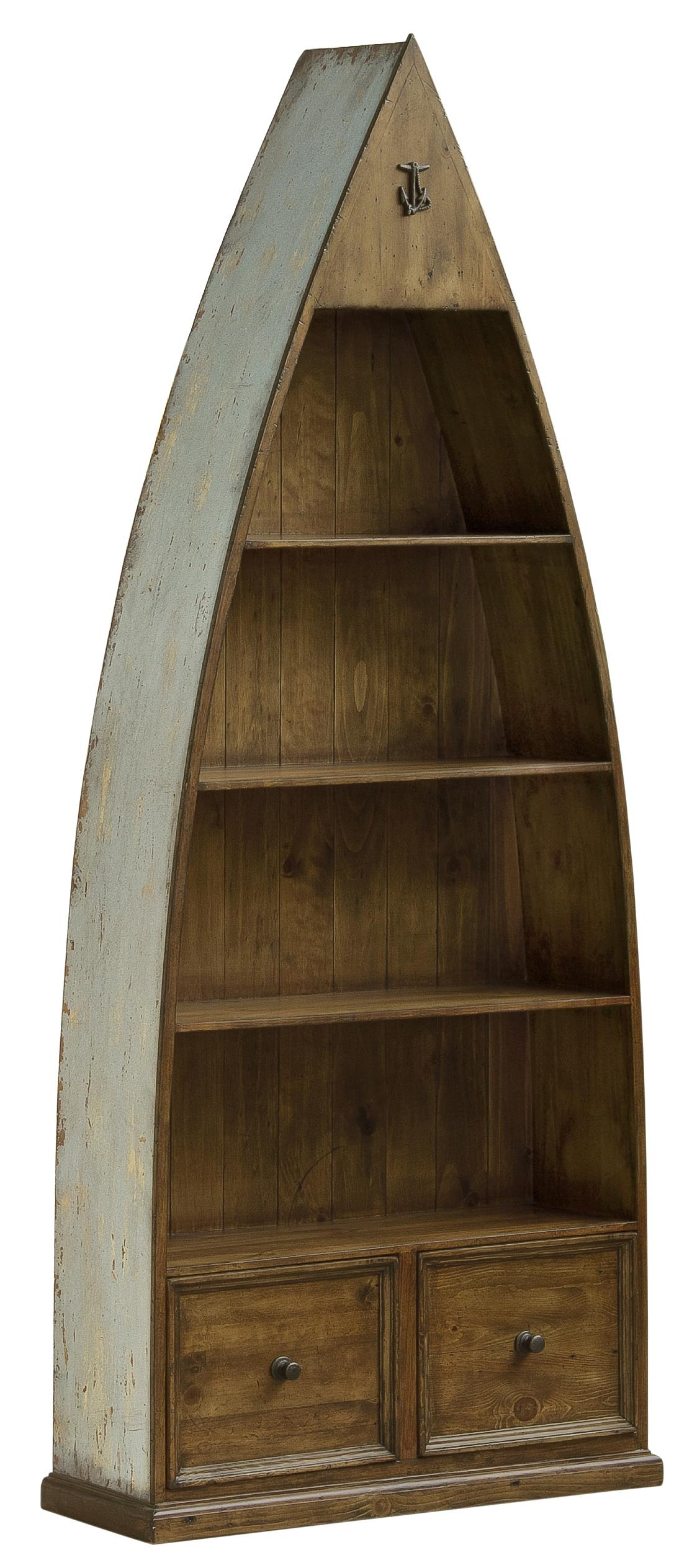 Hillsdale Tuscan Retreat Boat Bookcase - Item Number: 5362-886W