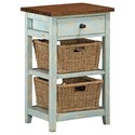Hillsdale Tuscan Retreat Basket Stand - Item Number: 5362-940W