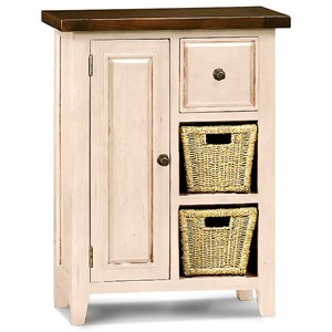 Hillsdale Tuscan Retreat White Coffee Cabinet