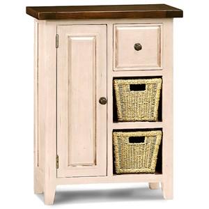 Hillsdale Tuscan Retreat White Coffee Cabinet