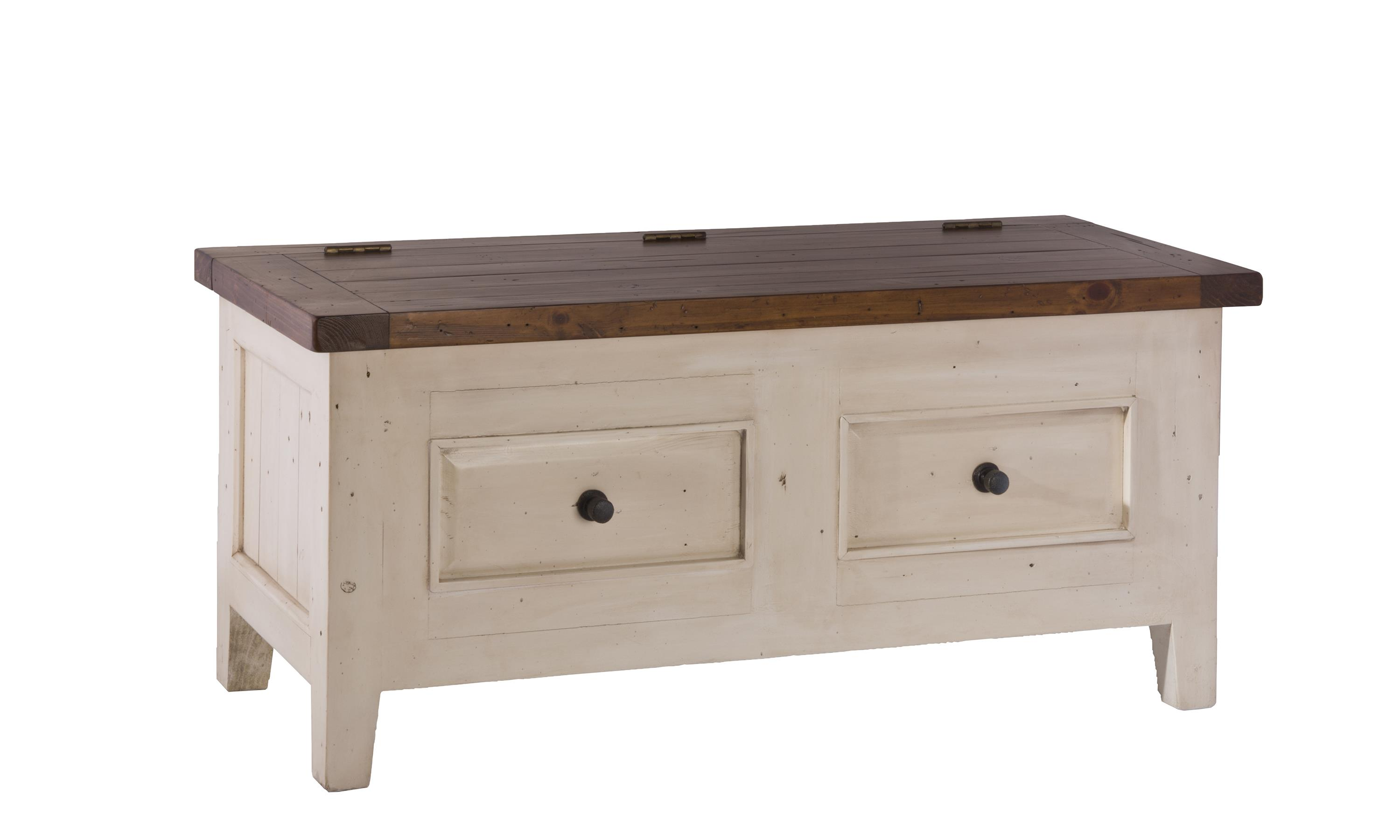 Hillsdale Tuscan Retreat Blanket Box with Lift Top  - Item Number: 5465-790W