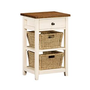 Morris Home Furnishings Tuscan Retreat Basket Stand