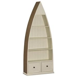 Hillsdale Tuscan Retreat Boat Bookcase