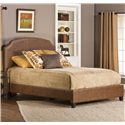 Hillsdale Upholstered Beds Queen Durango Bed - Item Number: 1055-570+580+550