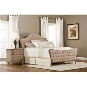 Hillsdale Upholstered Beds Jefferson King Bed with Rails