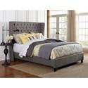 Hillsdale Upholstered Beds Queen Crescent Bed Set - Item Number: 1260BQR