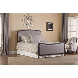 Hillsdale Upholstered Beds Bayside King Bed and Rails
