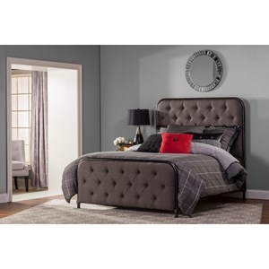 Hillsdale Upholstered Beds Queen Salerno Bed Set