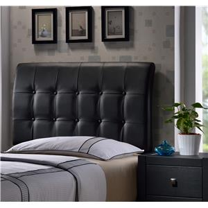 Hillsdale Upholstered Beds Lusso Twin Headboard