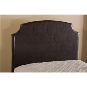 Hillsdale Upholstered Beds Lawler Twin Headboard with Rails
