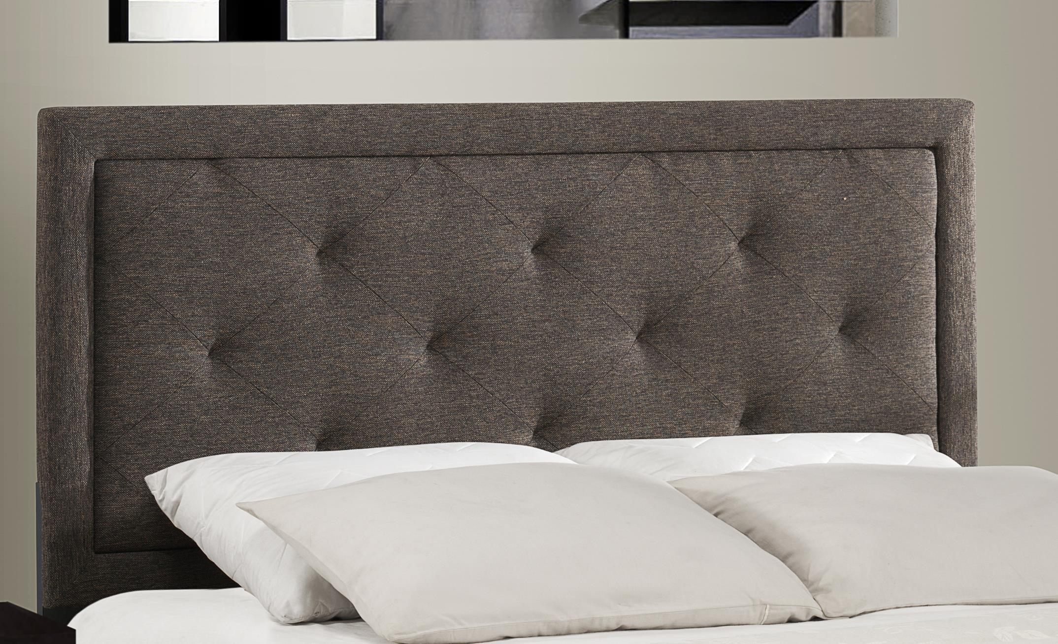 Hillsdale Upholstered Beds Becker Queen Headboard With Button