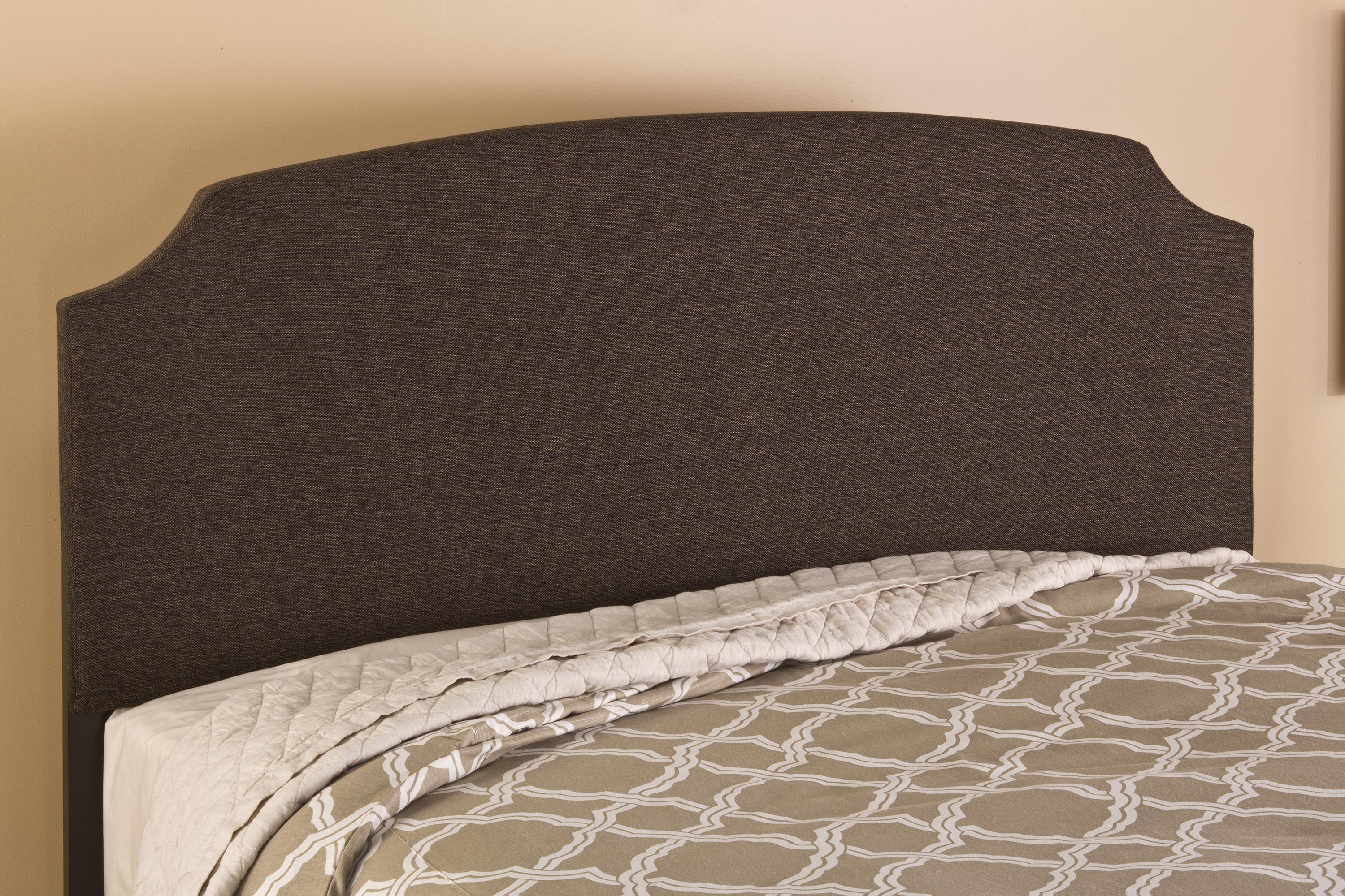 Hillsdale Upholstered Beds Lawler Full Headboard with Rails - Item Number: 1296HFRL