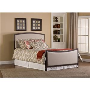 Hillsdale Upholstered Beds Bayside Queen Bed and Rails