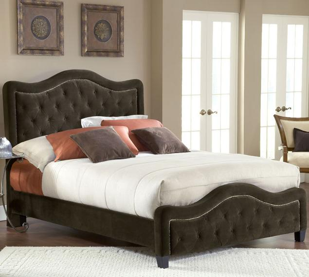 Hillsdale Upholstered Beds King Trieste Fabric Bed  - Item Number: 1554-672+682+650