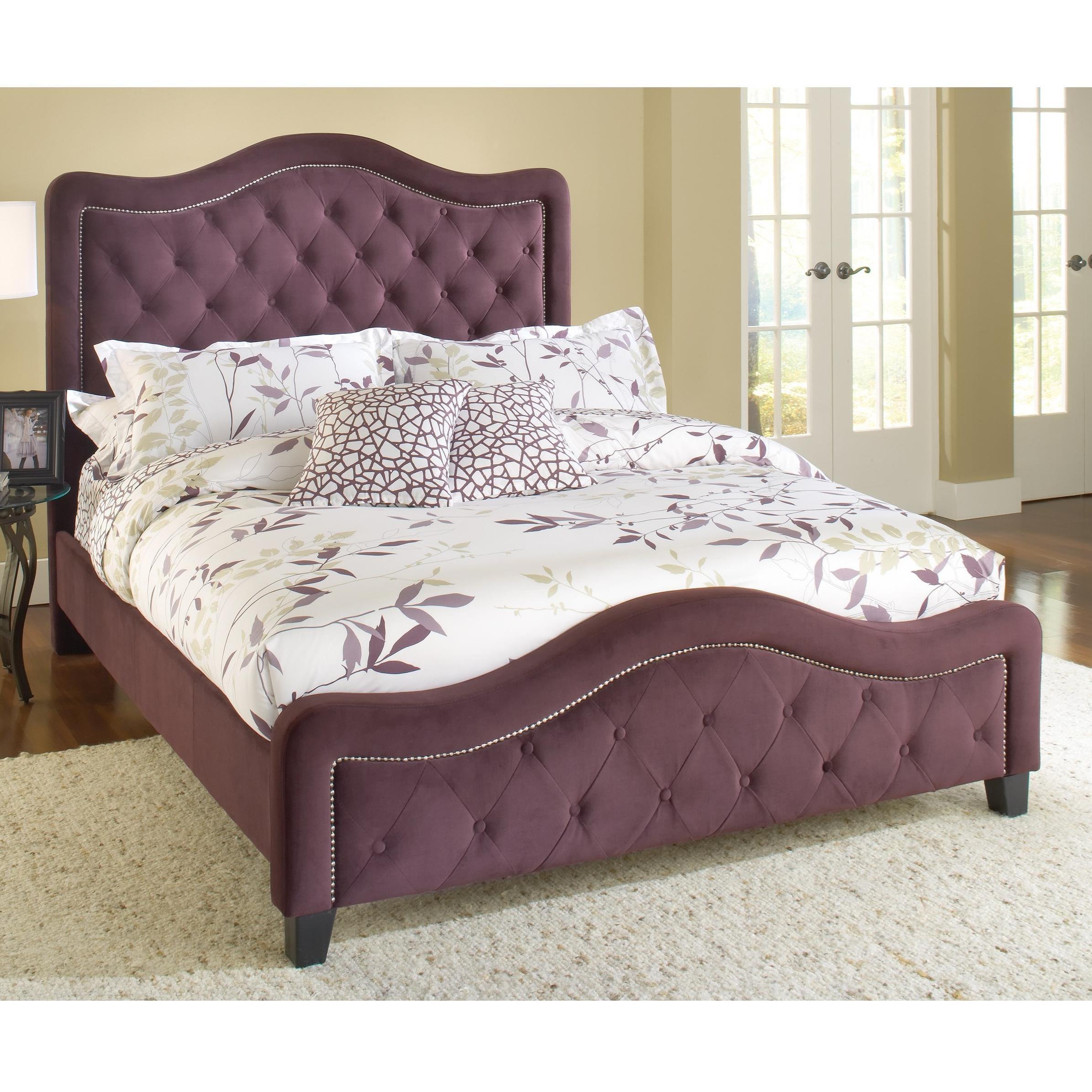 Hillsdale Upholstered Beds King Trieste Fabric Bed  - Item Number: 1758BKR