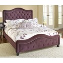 Hillsdale Upholstered Beds King Trieste Fabric Bed w/ Nailhead Trimming - Bed Shown May Not Represent Size Indicated