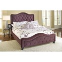 Hillsdale Upholstered Beds King Trieste Fabric Bed w/ Nailhead Trimming