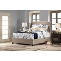 Hillsdale Upholstered Beds Wingback King Bed Set - Bed Shown Many Not Represent Size Indicated