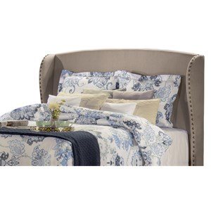 Hillsdale Upholstered Beds King Headboard with Frame