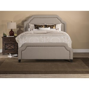Queen Carlyle Fabric Bed