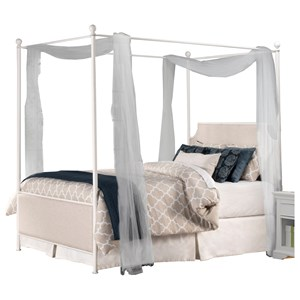 Hillsdale Upholstered Beds Queen Canopy Bed Set