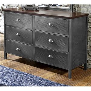 Morris Home Furnishings Urban Quarters Dresser