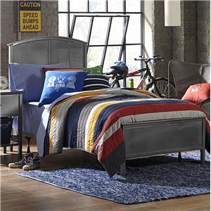 Morris Home Furnishings Urban Quarters Panel Bed Set