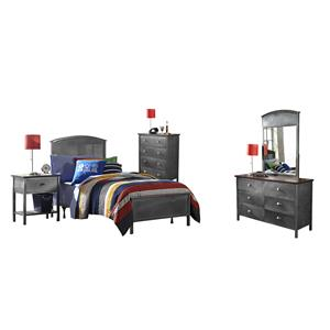 Morris Home Furnishings Urban Quarters Full Panel Bedroom Set