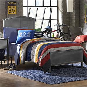 Morris Home Furnishings Urban Quarters Twin Panel Bed Set