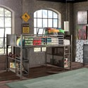 Hillsdale Urban Quarters Twin Lofted Bed - Item Number: 1265JL