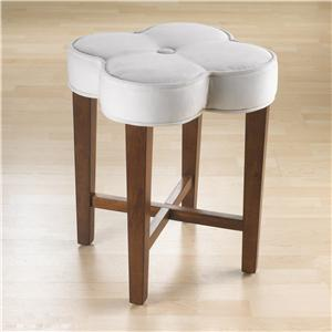 Morris Home Furnishings Vanity Stools Clover Vanity Stool