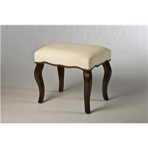 Morris Home Furnishings Vanity Stools Hamilton Backless Vanity Stool